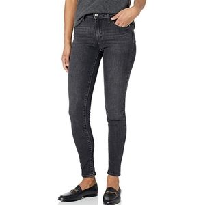 Levi's 721 high rise skinny grey jeans